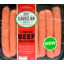 Photo of Caves 8 Beef BBQ Sausages (500g)