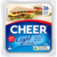 Photo of Cheer Light N Tasty Cheese Slices 36 Pack 750g