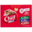 Photo of Chef Cat Food Pouch Variety Kitten Loaf 12 Pack