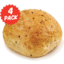 Photo of Oven Peel Bakery Roll Multi-Grain 4pk