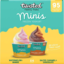 Photo of Twisted Healthy Treats Watermelon & Mango Salted Caramel & Chocolate Frozen Yoghurt 4 Mini Tubs 340g