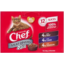 Photo of Chef Cat Food Pouch Variety Red Meat Lover 12 Pack