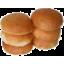 Photo of 6 White Hamburger Buns 480g