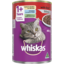 Photo of Whiskas Adult Wet Cat Food Beef Mince 400g Can