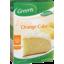 Photo of Greens Zesty Orange Cake Mix  470g