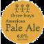 Photo of Three Boys American Pale Ale 330ml