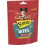 Photo of Schmackos Tasty Bites Dog Treat Chewy Slices Beef 155g Bag
