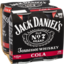 Photo of Jack Daniel's Tennessee Whiskey & Cola Cans