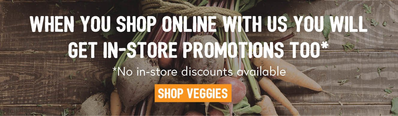 Local produce from Crace Supabarn - shop our veggies veges