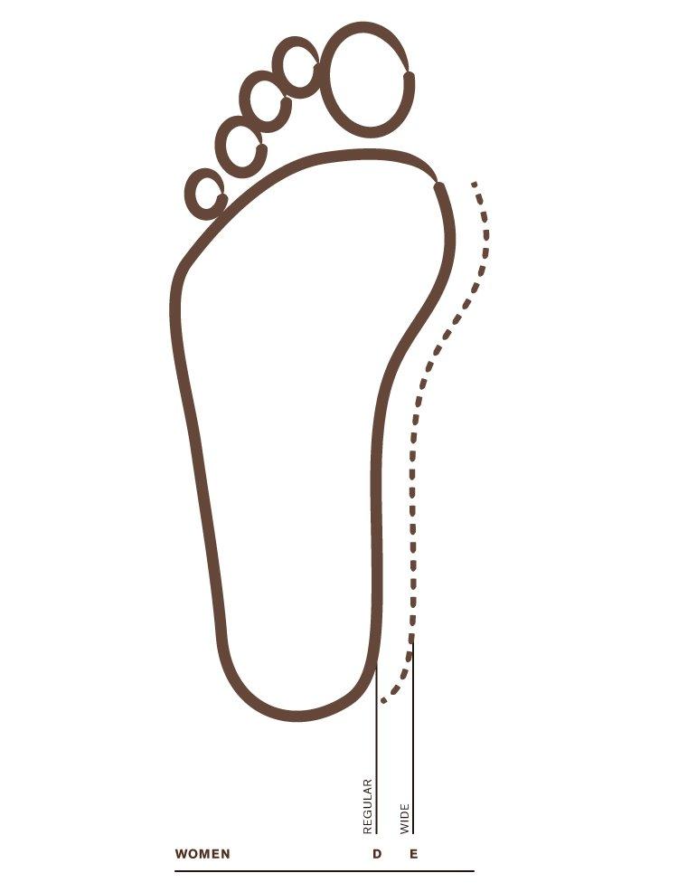 Foot Width Womens