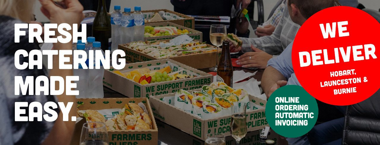 Fresh catering made easy. Launceston and Burnie delivery now available! Online ordering automatic invoicing.