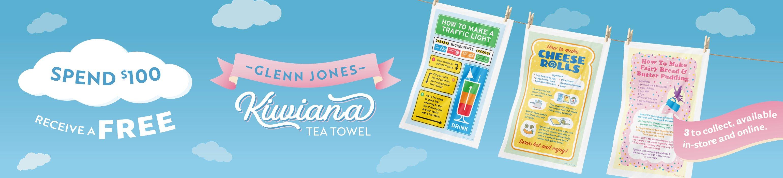 Glenn Jones Tea Towel Giveaway