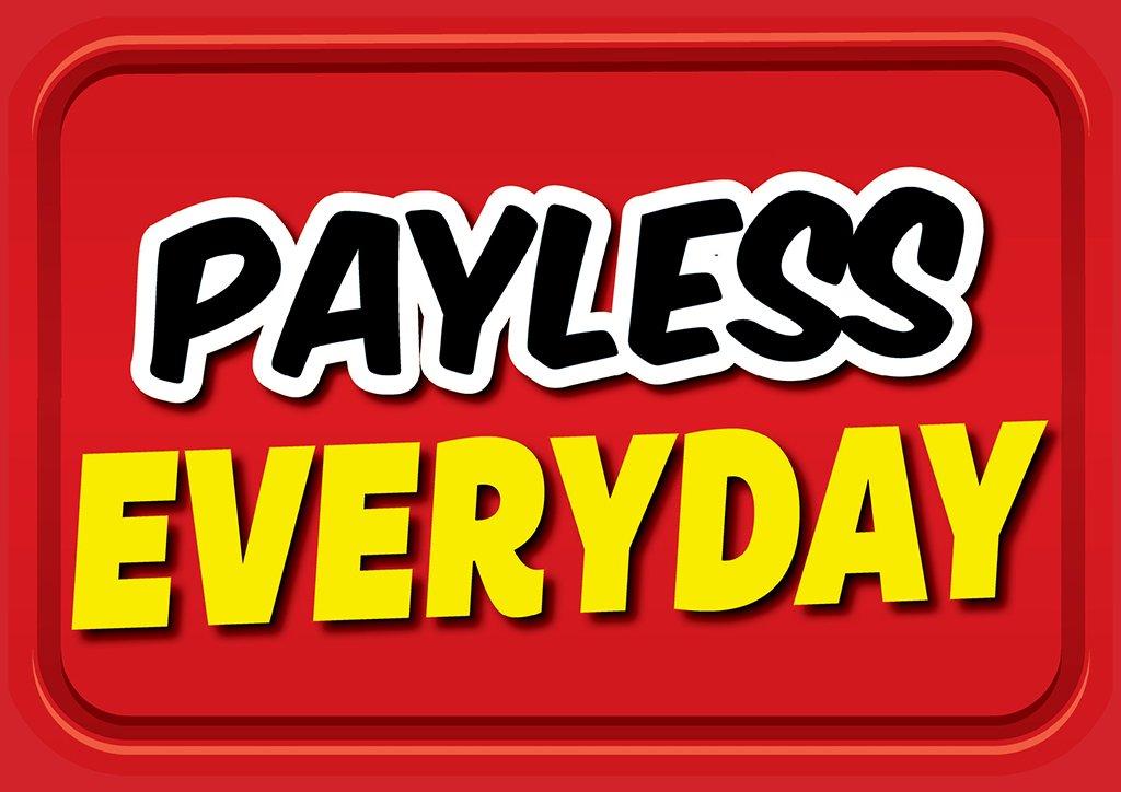 Image of Payless Everyday slogan