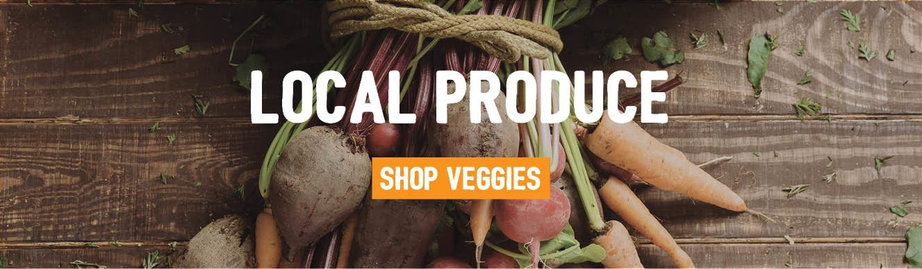 Local produce from Supabarn - shop our veggies