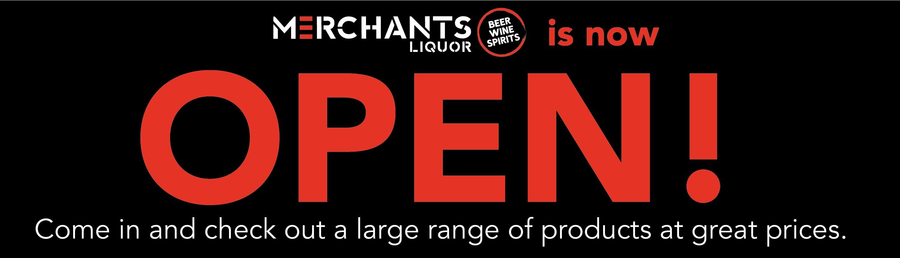 Merchants We Are Open