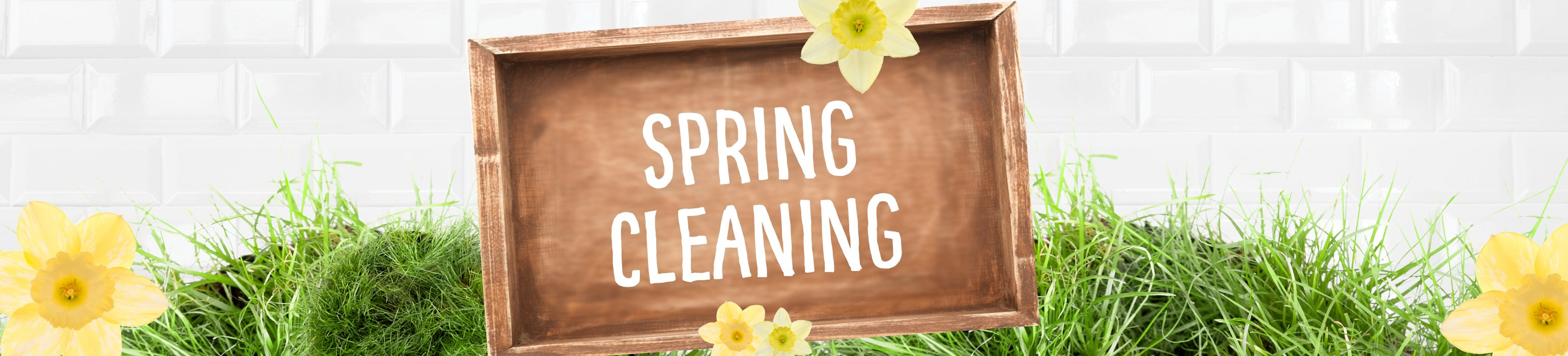Spring Cleaning Savings on now