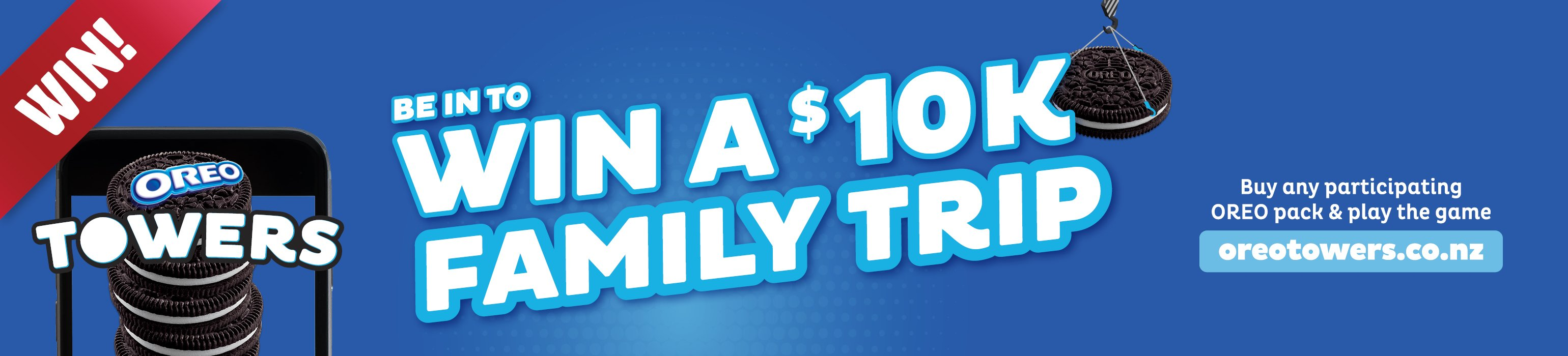 Win a family trip with Oreo