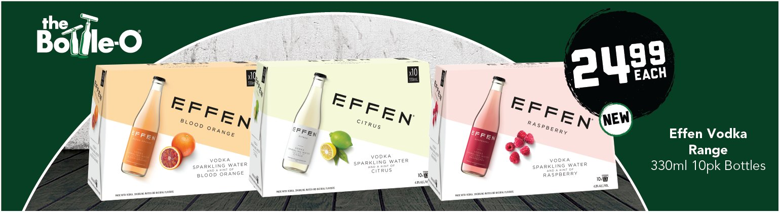 Image showing Effen Vodka range special offers