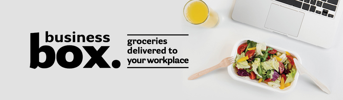 Groceries delivered to your workplace