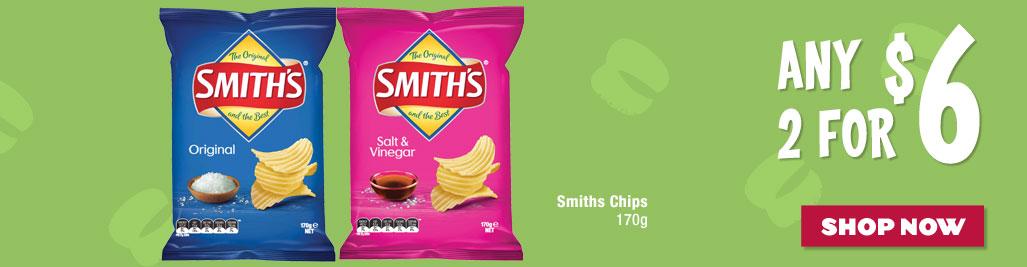 Smiths Chips 170g