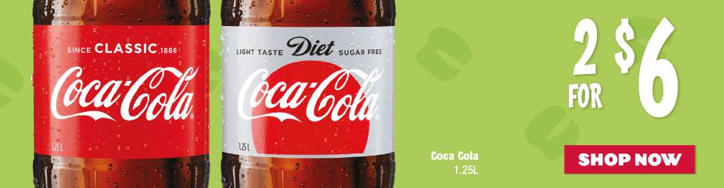 Coca Cola 1.25L Varieties