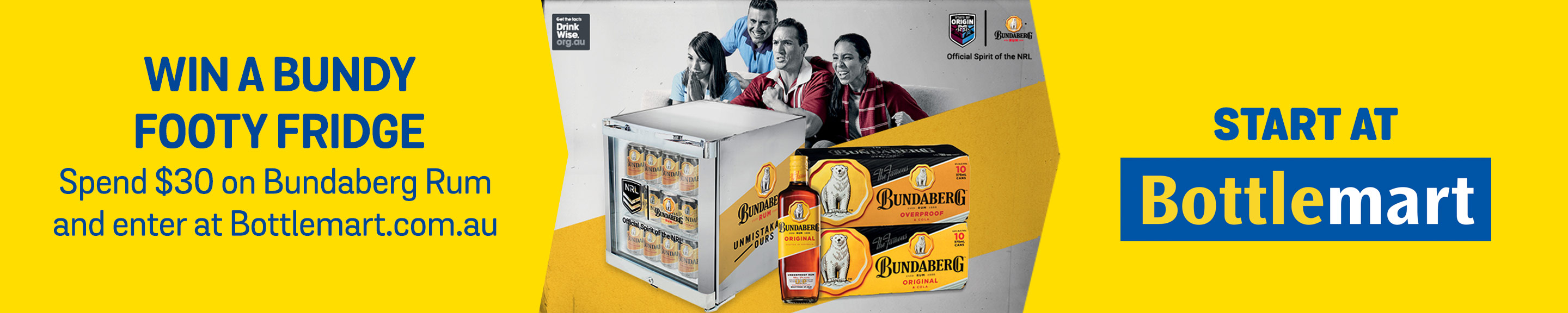Win a Bundy Footy Fridge