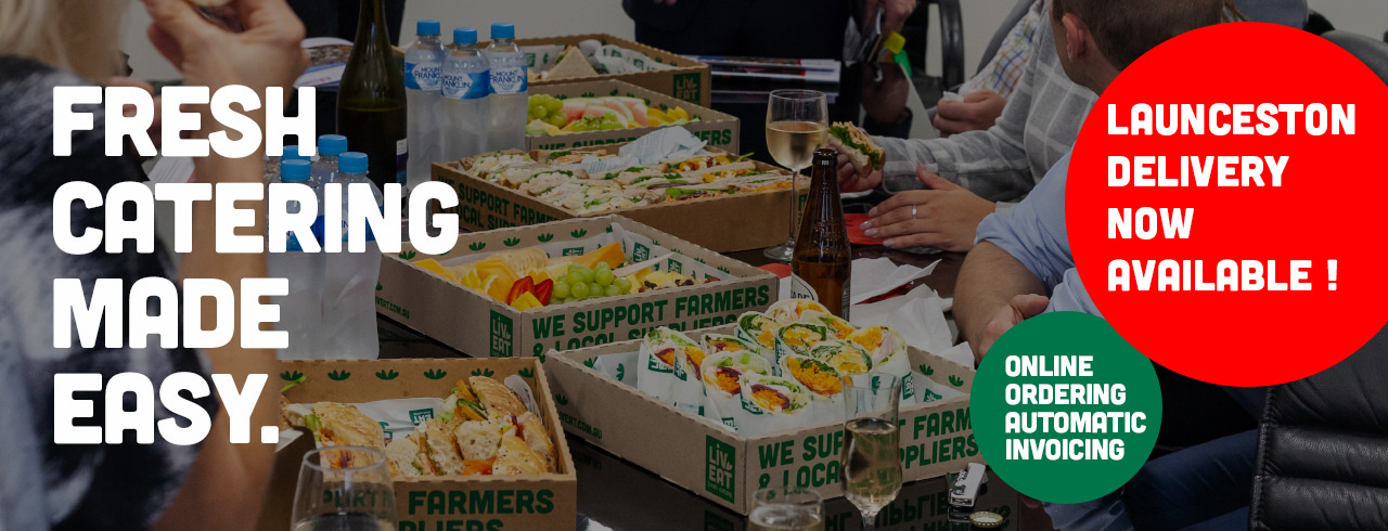 Fresh catering made easy. Launceston delivery now available! Online ordering automatic invoicing.