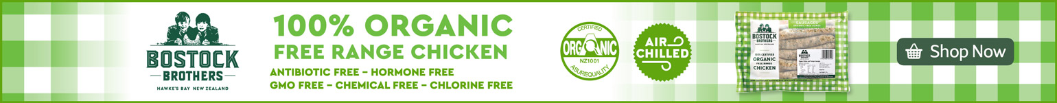 Bostocks 100% Organic Free Range Chicken