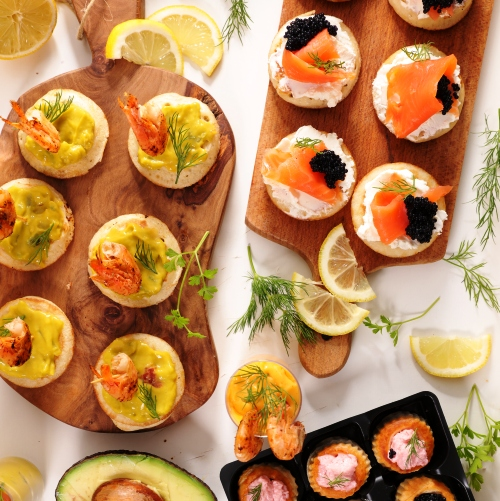 Shop by Entertaining - Cold Canapes