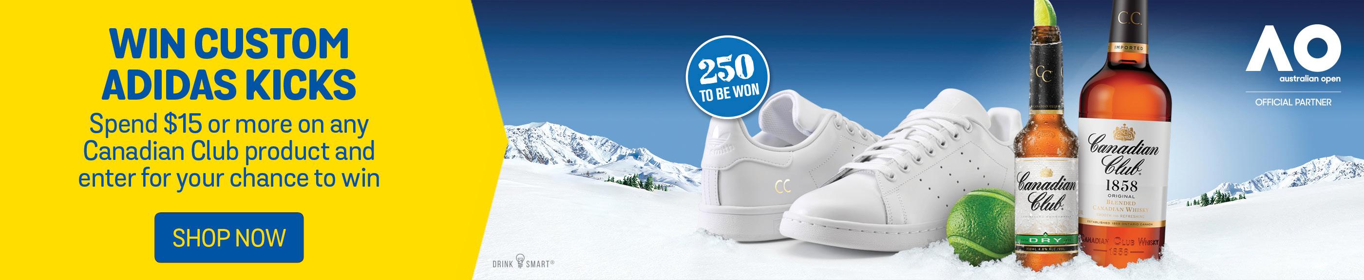 Win Custom Adidas Kicks