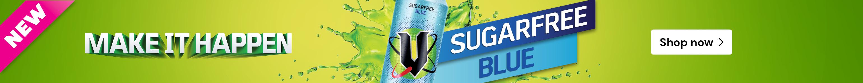 NEW! Sugar Free Blue V