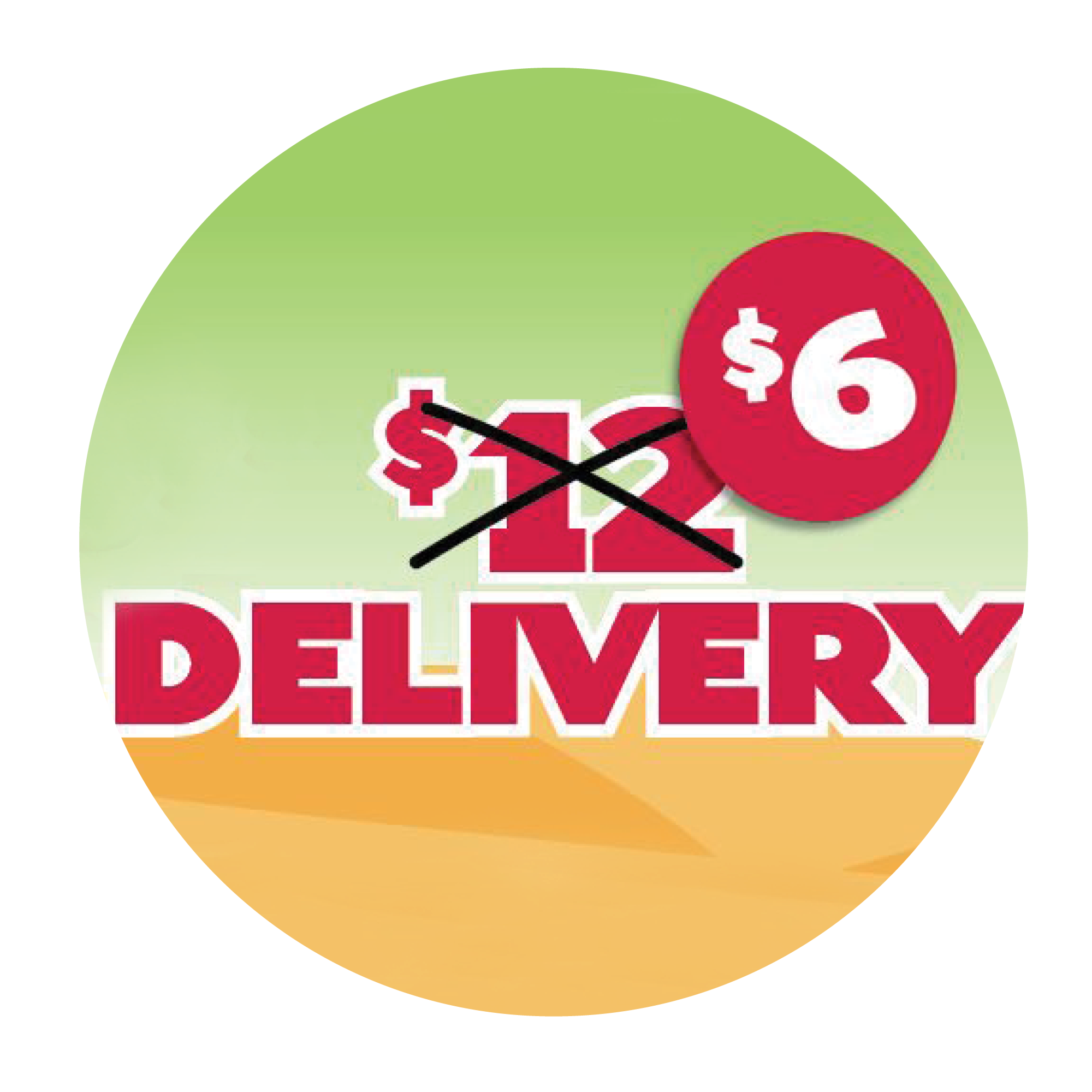 1/2 Price Delivery
