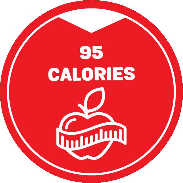 2021 Calories 95