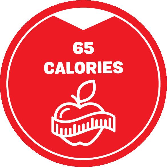 2021 Calories 65