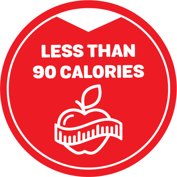 2021 Calories less than 90