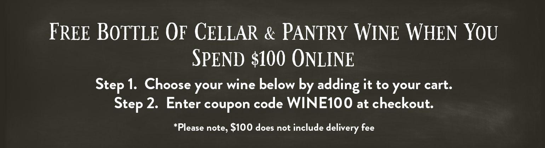 Cellar & Pantry range of wine made in the Mornington Peninsula