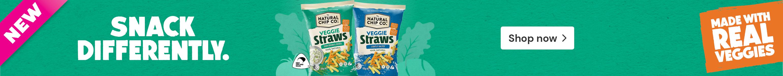 Shop The Natural Chip Co. Veggie Straws