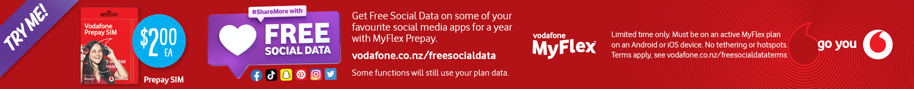 Latest deals from Vodafone